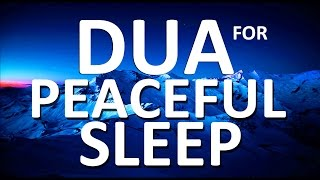 listen to this dua before you go to bed each night ᴴᴰ   can t fall asleep sleeping problems