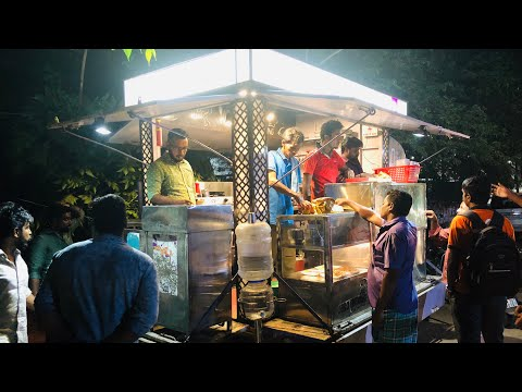 Night Street Food Truck in Nagercoil சென்னை to கன்னியாகுமாரி