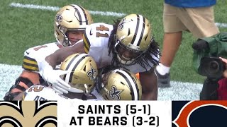 Bears vs Saints Week 7 Highlights | NFL 2019