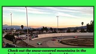 Orange Show Stadium, San Bernardino, California - Last ever race on asphalt