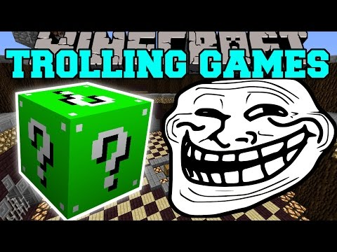 Minecraft: KINGDOMS OF THE OVERWORLD TROLLING GAMES - Lucky
