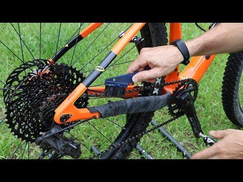 The 5 Minute Bike Clean