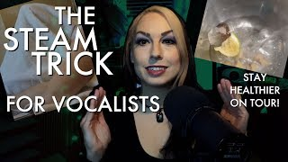 The Steam Trick for Vocalists! Guest Tutorial feat. Sabrina Cruz of Seven Kingdoms
