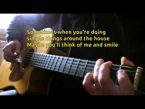 Warren Zevon - Keep Me In Your Heart KARAOKE GUITAR REQUEST