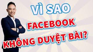VÌ SAO FACEBOOK KHÔNG DUYỆT BÀI?  Phạm Đức Tiệp  Đào Tạo Marketing Online 4.0