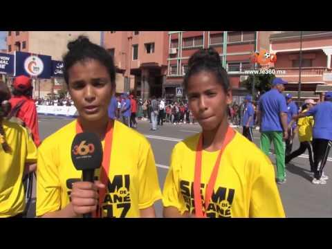 Le360.ma •Semi-marathon international de Berkane: la couse Kids Day