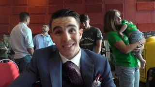 MICHAEL CONLAN  - 'ITS A HUGE HONOUR TO BOX ON THE BIGGEST CARD IN AUSTRALIAN HISTORY'