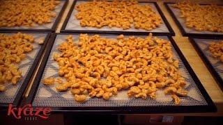 Get Your Fresh Raw Spicy Cashews At Kraze Foods