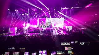 David Guetta, Charlie XCX and French Montana @ MTV EMA 2017