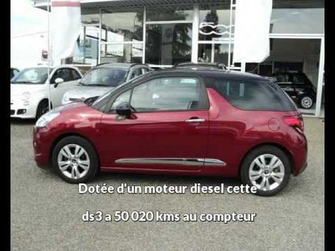 citroen ds3 occasion visible villenave d 39 ornon pr sent e par bordeaux sud automobiles youtube. Black Bedroom Furniture Sets. Home Design Ideas