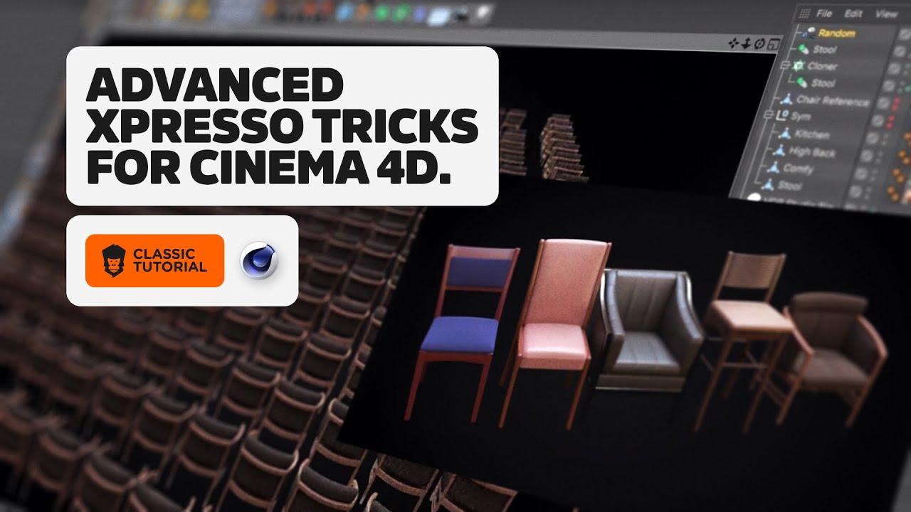 3 Advanced Xpresso Techniques in Cinema 4D