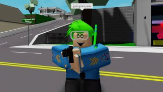 Life as a POLICE OFFICER in Brookhaven RP (Roblox) YouTube
