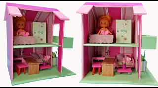 DIY Miniature Furniture for Dollhouse Made of Cardboard | DIY Miniature Cardboard Dollhouse No. 29
