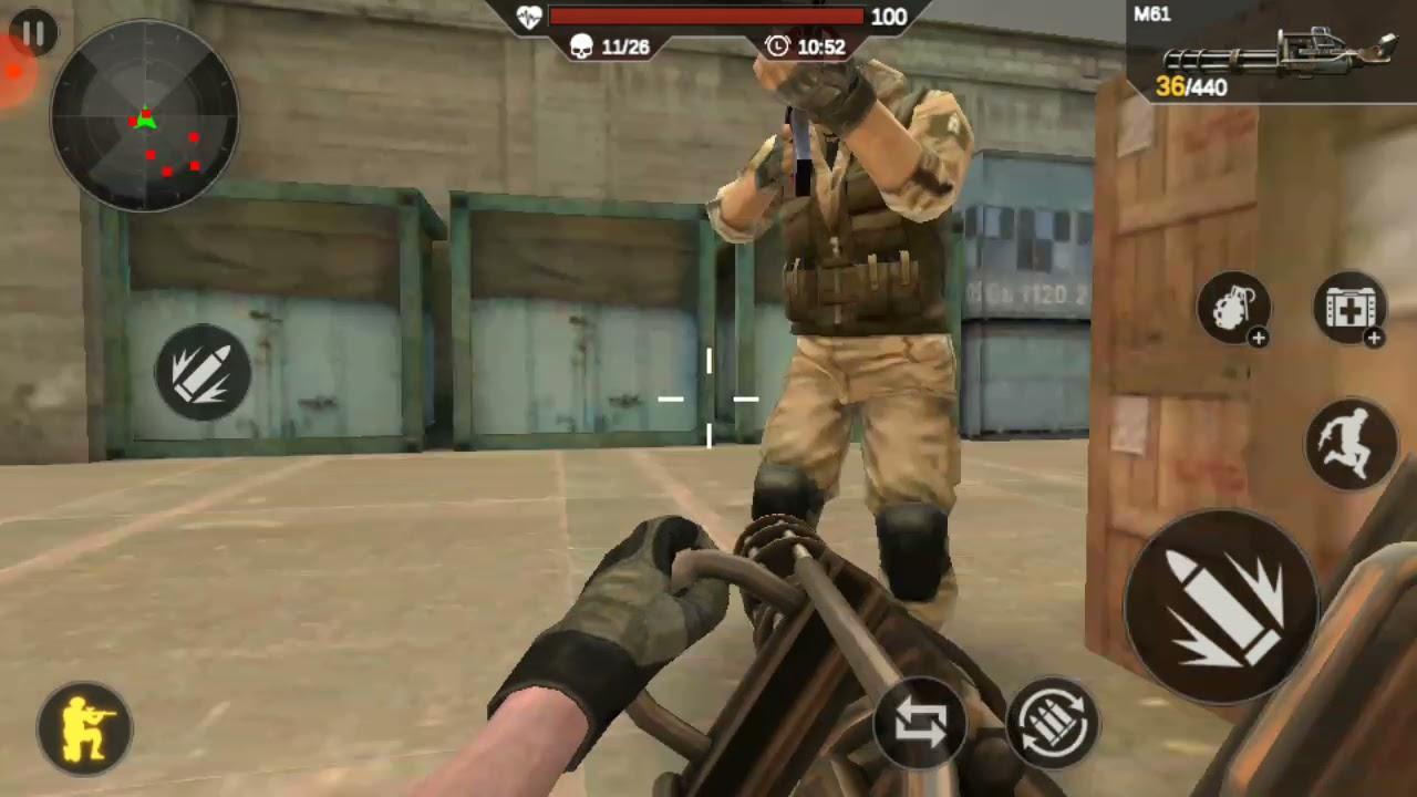 Critical Action: Guns Strike Ops - Shooting game #games #mobilegames #gaming