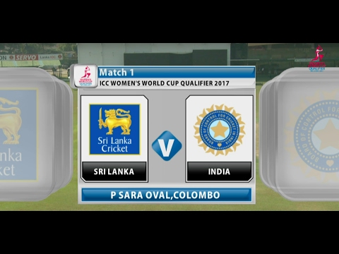 Sri Lanka v India, ICC Women's World Cup Qualifier, 2017