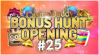 €35000 Bonus Hunt - Casino Bonus opening from Casinodaddy LIVE Stream #25