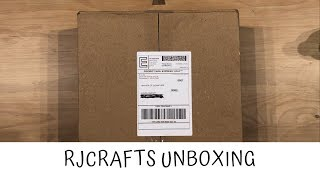 Unboxing Haul Video Polymer Clay Supplies From RJCrafts!