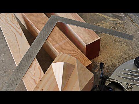 видео: t't: Как запилить стропила под нужным углом и нужных размеров