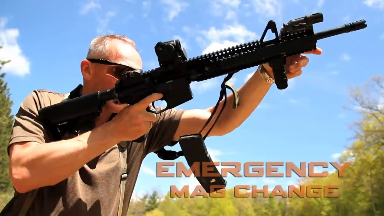 How To Perform An Emergency Mag Change  Tactical Minute -7216