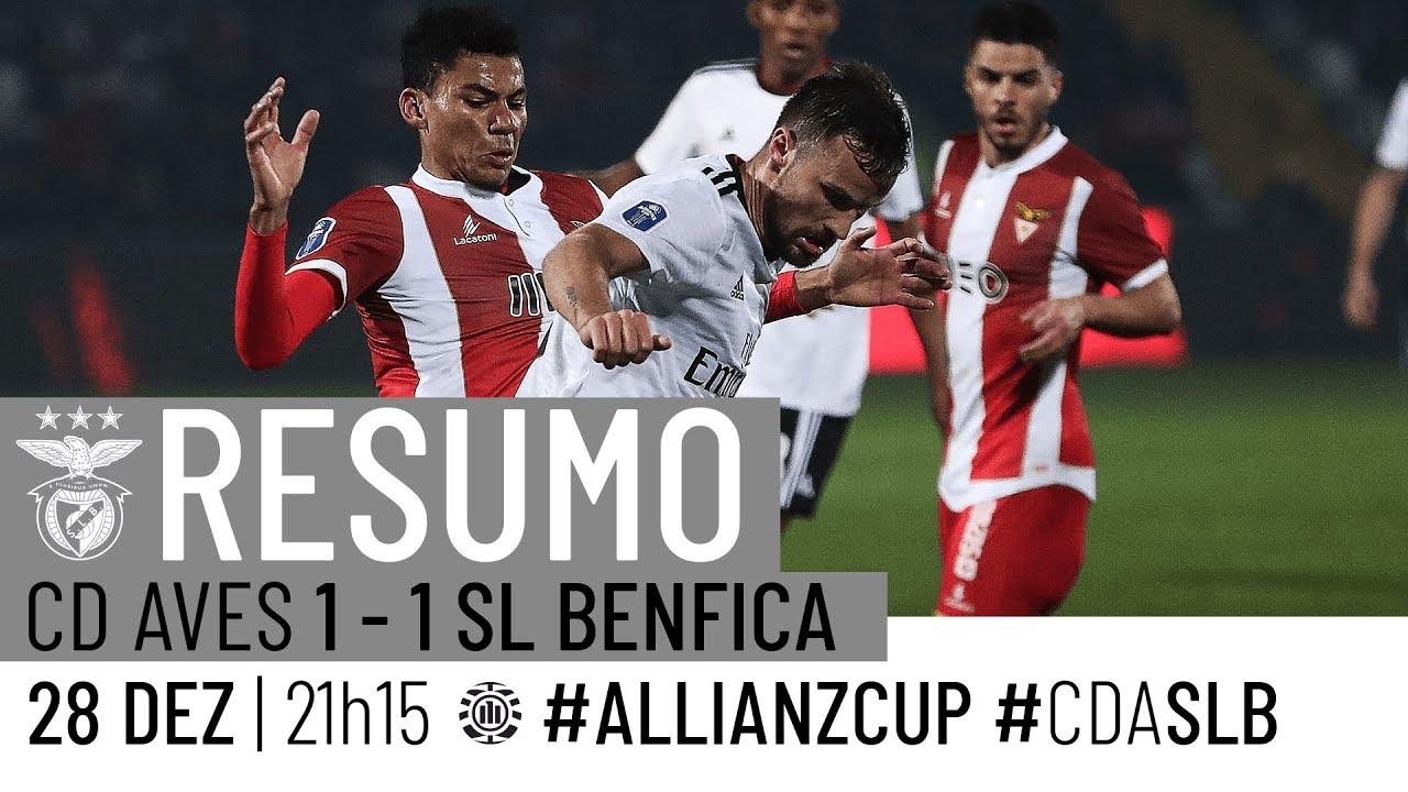 HIGHLIGHTS: CD Aves 1-1 SL Benfica - YouTube