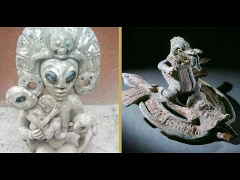 Mysterious Maya Artifacts Hailed As Evidence Of Ancient Alien Contact