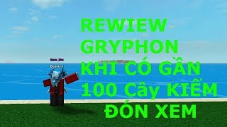 | NEW | Review 100 powerful sword near the Gryphon? [ROBLOX 2019]