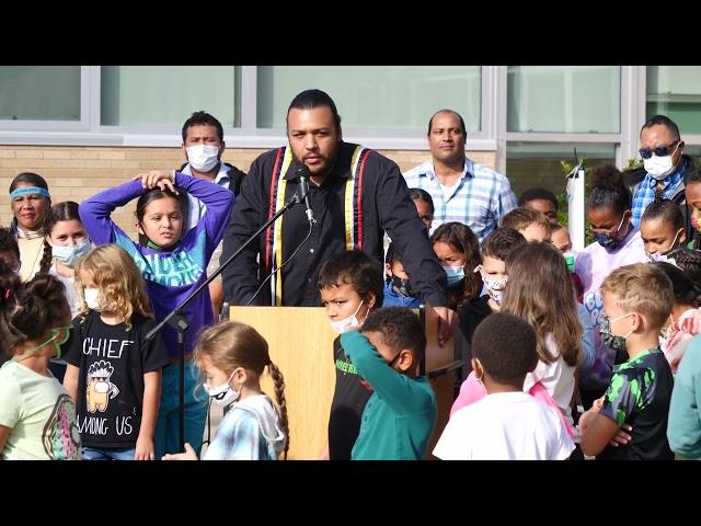 Tribal Flag Raising Ceremony