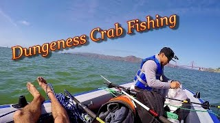 $100 Raft in the Pacific Ocean Fishing for Crab
