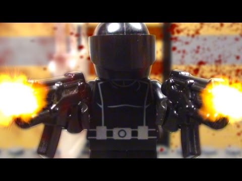 "LEGO G.I. JOE RETALIATION : ""SNAKE EYES SHOOTOUT"""