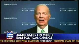 Crisis in Egypt - James A. Baker III on Middle East Political Change