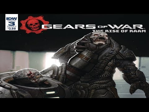Gears of War Lore Episode 29 : Rise of Raam Issue #3!!! [4K] / RAAM TAKES OVER!!!