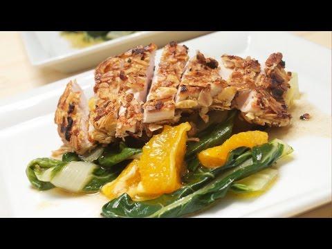 Putenschnitzel panieren und auf einem spannenden, lauwarmen Salat servieren. Chefkoch Anleitung