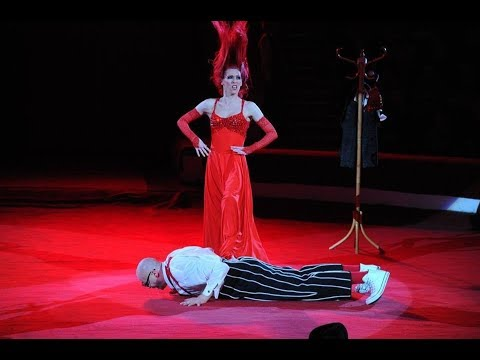 Physical Comedy Duo Unique Act Acrobatic Circus Variety Performance Entertainment Event Party