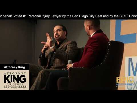Attorney King Aminpour | Contingency Fees Part 9 | EPIC Live Interview on video