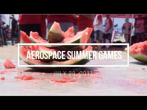 aerospace summer games 2017: dockweiler beach