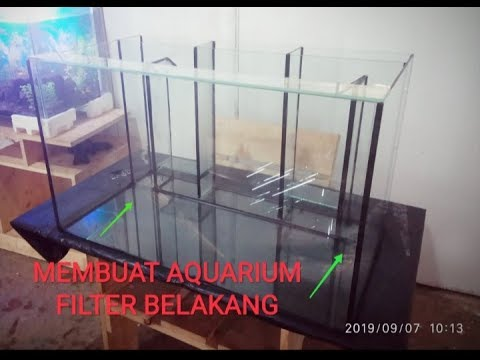 Membuat Aquarium Filter Belakang Part 1 Youtube