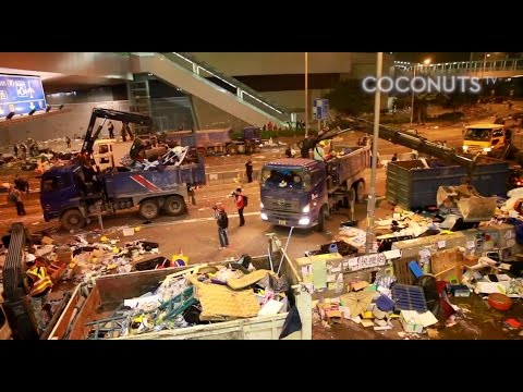 The Last Day: The Clearance of the Umbrella Movement's Main Camp