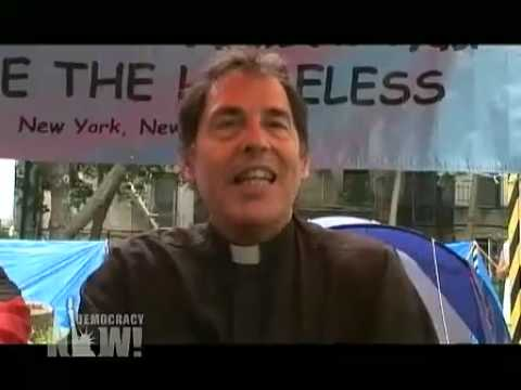 10 NYC Homeless Activists Arrested at Encampment Democracy Now 7/27/09