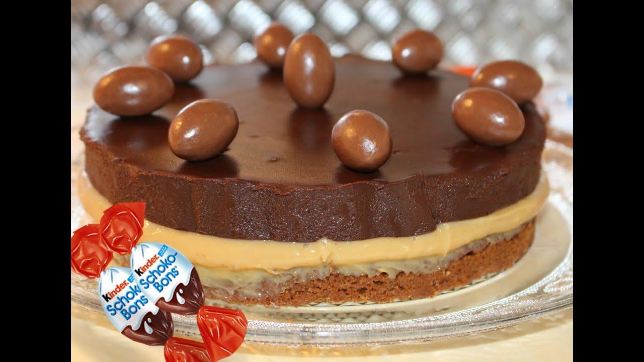 Ultimate Kinder Schoko Bons Pie Hanael Cuisine Youtube