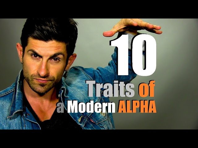 alpha male characteristics psychology