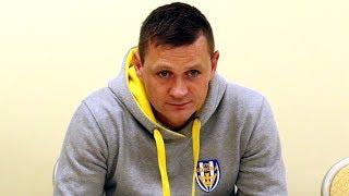 Marcin Truszkowski (Korona Ostro³êka) po meczu z B³êkitnymi Raci±¿