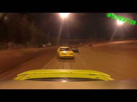 Harris Speedway FWD 4 Heat #1 Rear Cam 9-23-17 #15XWATSON