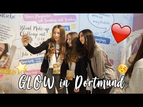 GLOW by DM 2018 in DORTMUND 😍| Goodie Bag Unboxing | Saradventure