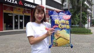 Chị Tuyết Ăn Bim Bim Khổng Lồ ❤ BIBI TV ❤