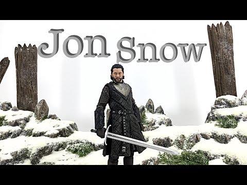 McFarlane Toys Game Of Thrones Season 7 JON SNOW Action Figure Toy Review