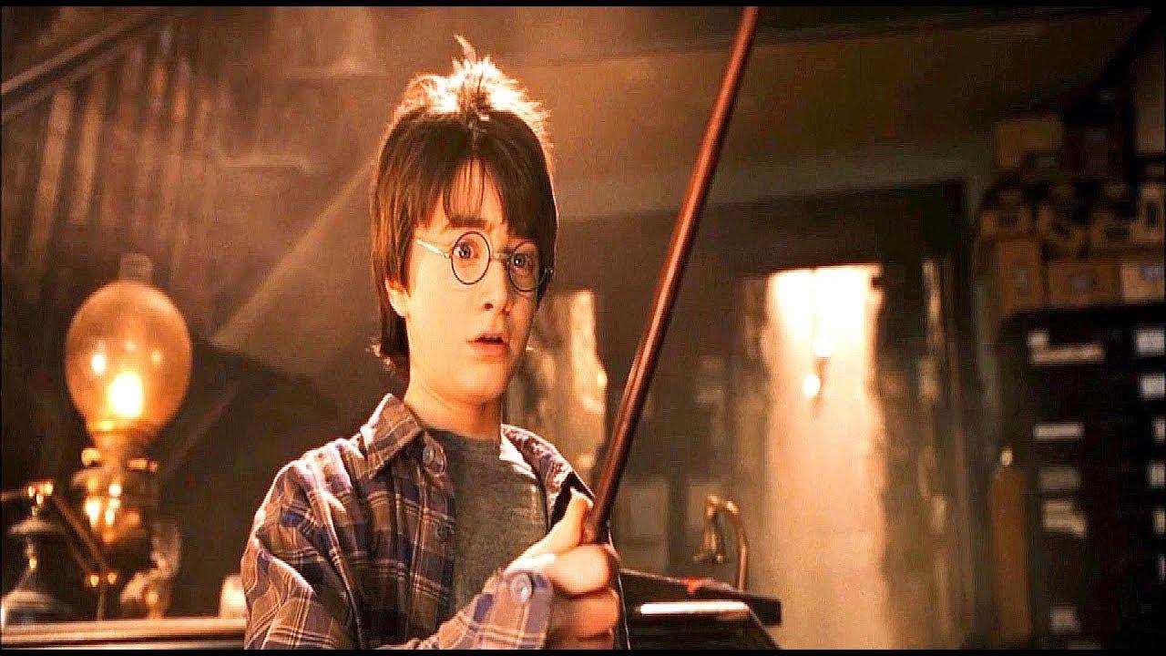 Гарри Поттер покупает свою первую волшебную палочку у ...