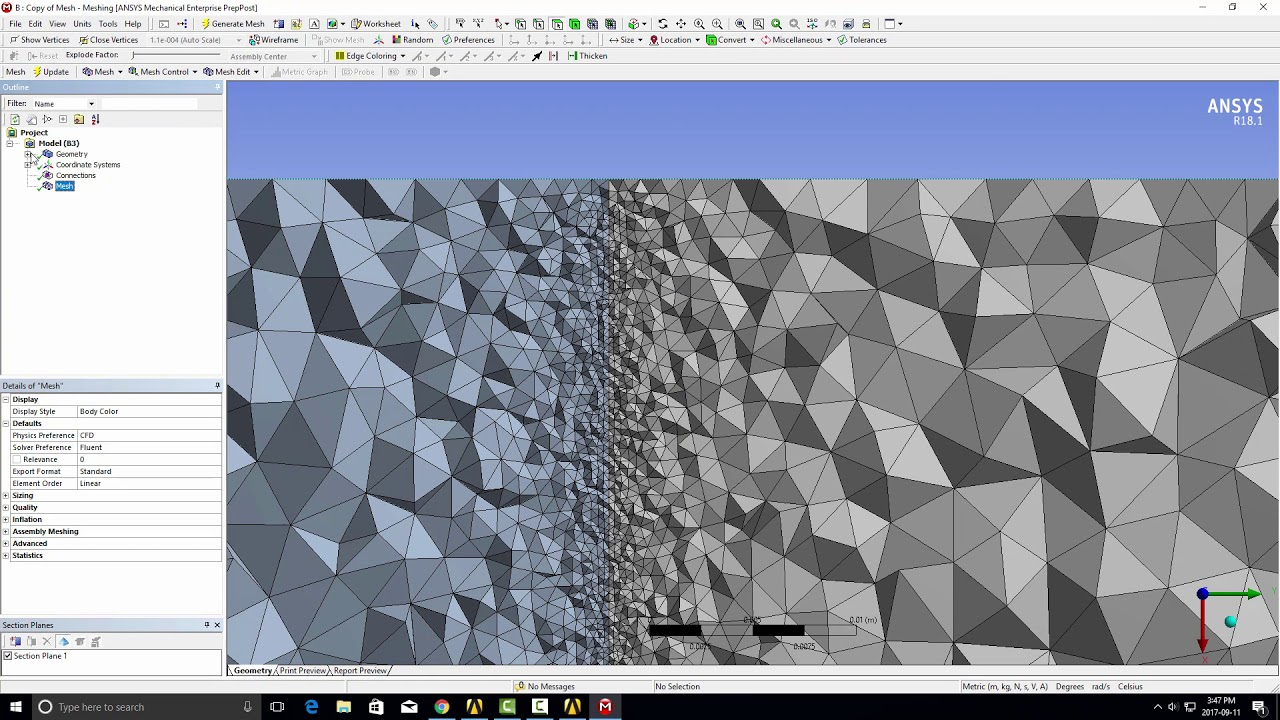 How to create thin (0 thickness) internal walls for ANSYS CFD models ...