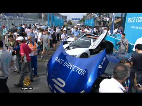 China hosts eco-friendly Formula E grand prix