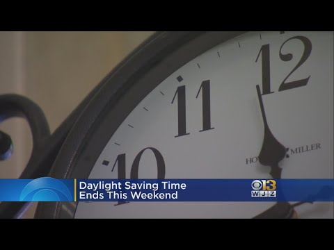Daylight Savings Time Ends This Weekend