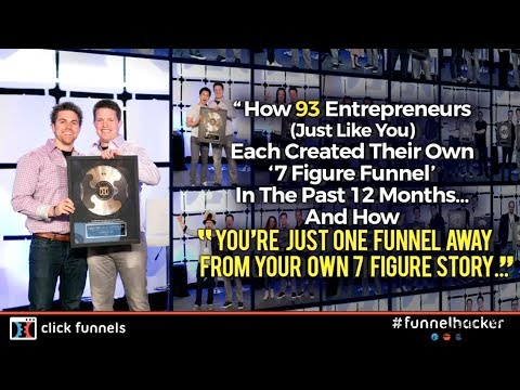 [PT1] How 93 Entrepreneurs (just like you) Created a 7 Figure Sales Funnel (TRUE STORY)